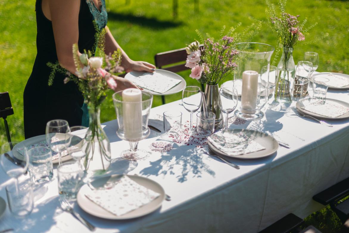 de Oude Dee - Gezellige tuin tafel