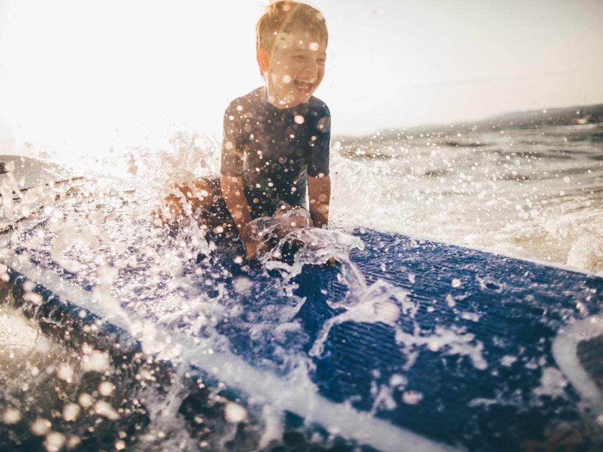 de Oude Dee - Surfing