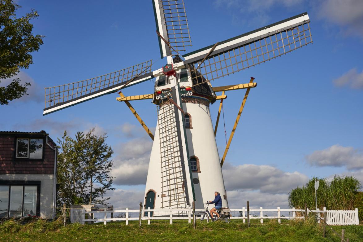 de Oude Dee - Omgeving molen
